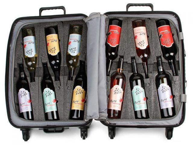 VinGardeValise Wine Suitcase Flying with wine