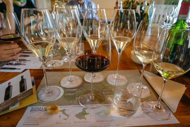 Visit Prosecco Italy Sorella Bronca Winery Wine Tasting