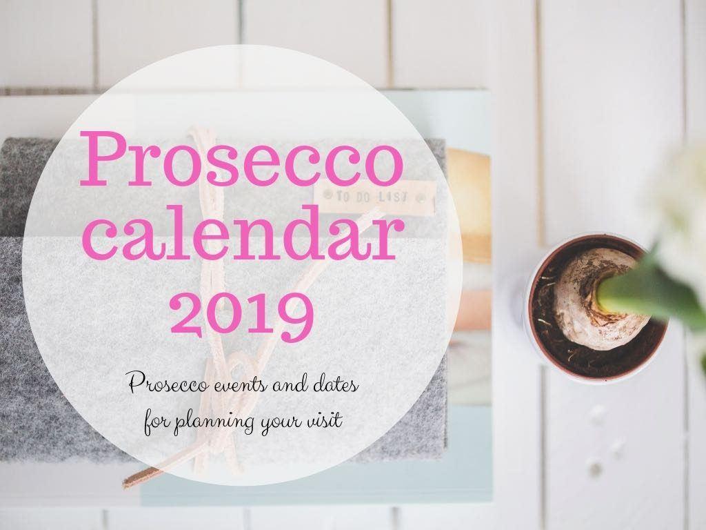 Prosecco events 2019
