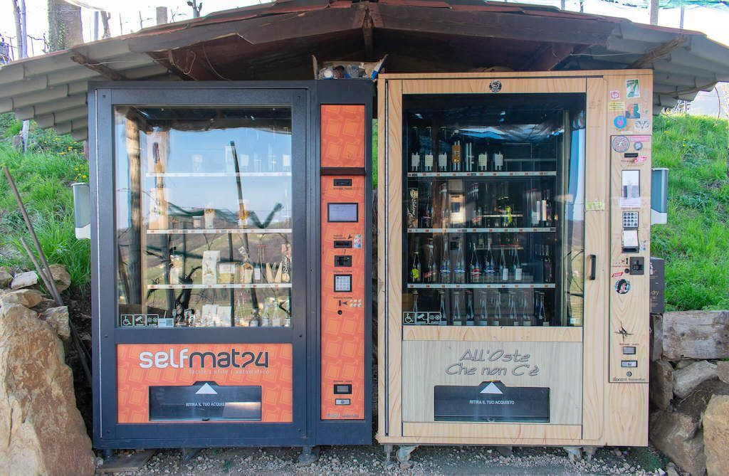 Prosecco Vending Machine Italy