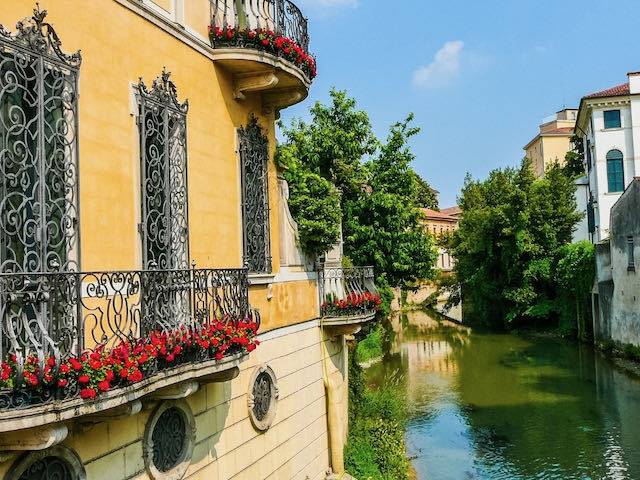 canal in Padua Italy